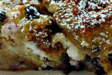 crock-pot blueberry breakfast casserole