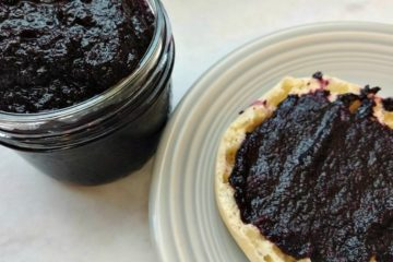 crock-pot blueberry butter