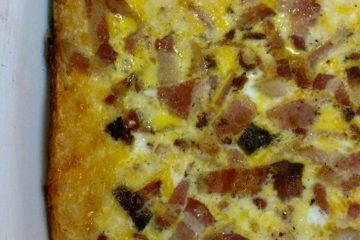 crock-pot bacon and crescent roll casserole
