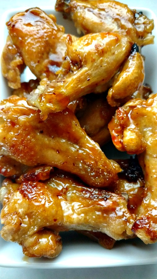 crock-pot sweet and savory bbq wings