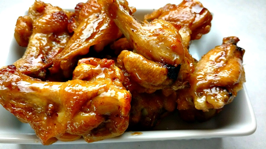 crock-pot sweet and savory chicken wings