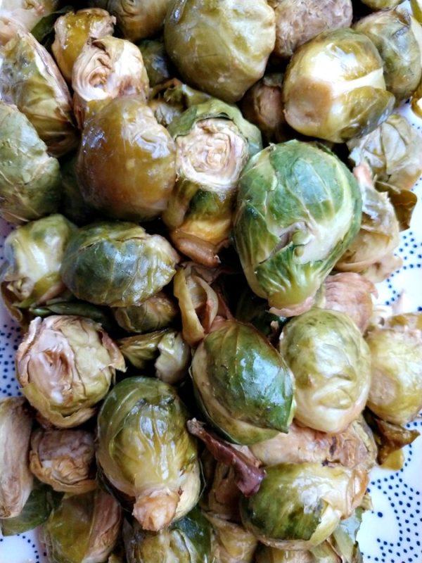crock-pot sweet brussel sprouts