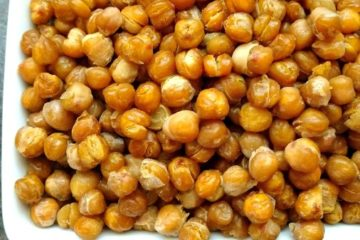 crock-pot honey roasted garbanzo beans