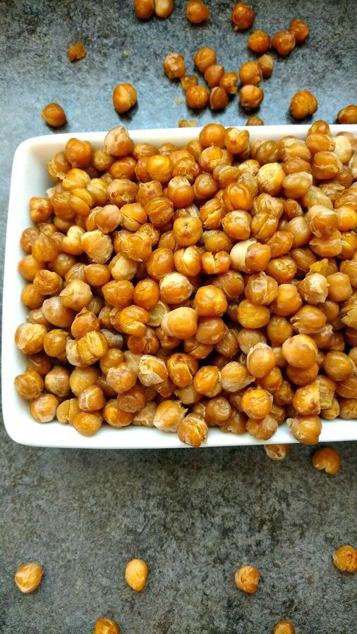 crock-pot honey roasted garbanzo beans