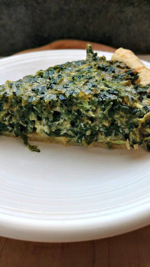 crock-pot spinach quiche