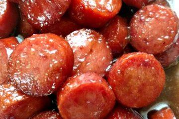 crock-pot sweet kielbasa