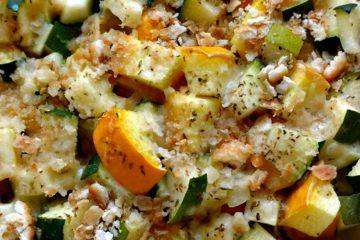 crock-pot zucchini and squash casserole