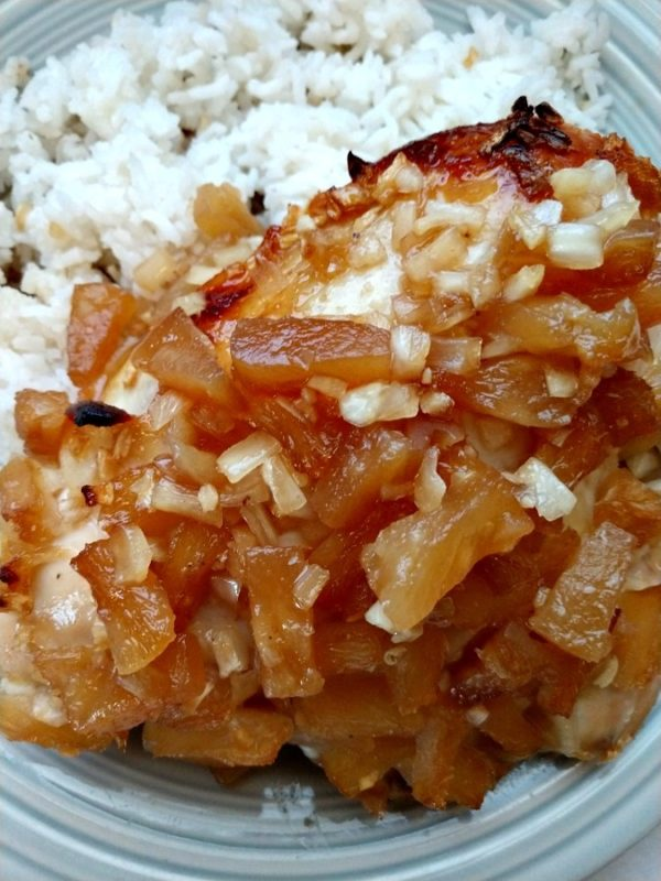 crock-pot hawaiian pineapple chicken