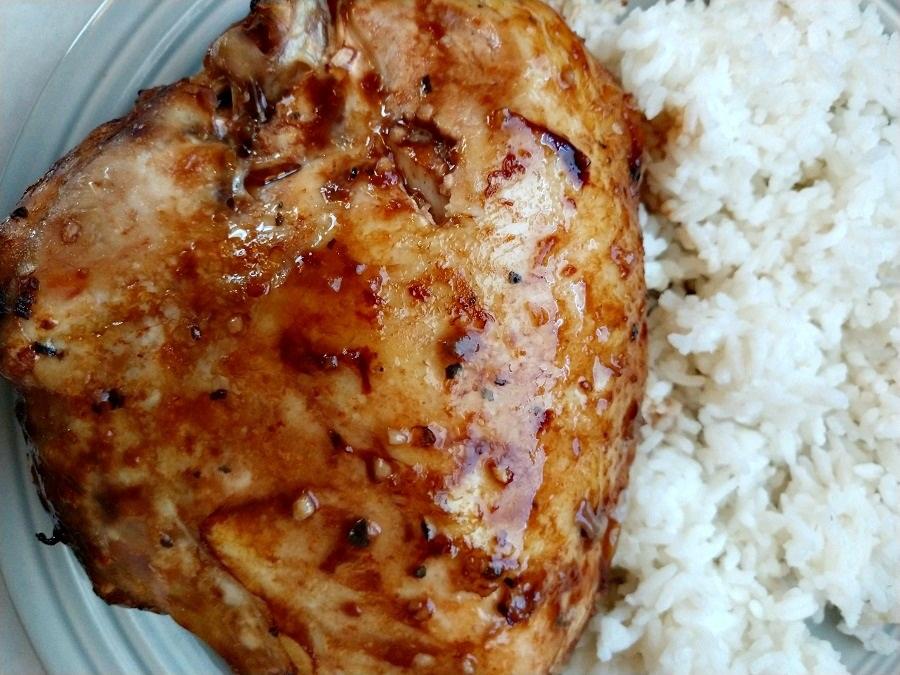 crock-pot honey garlic chicken
