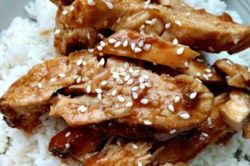 crock-pot honey teriyaki chicken