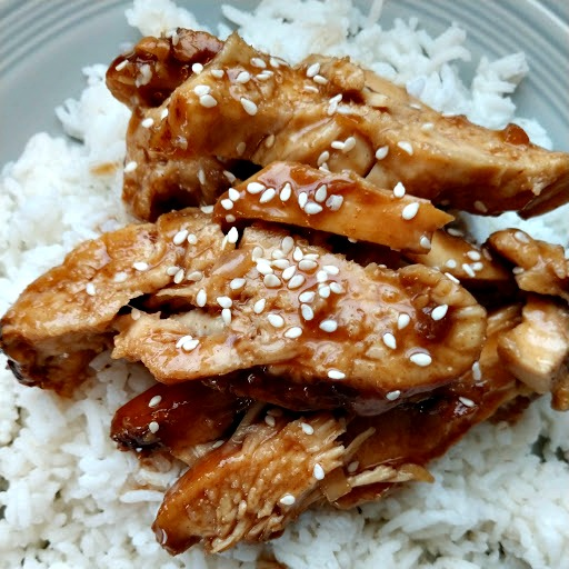 crock-pot honey teriyaki chicken