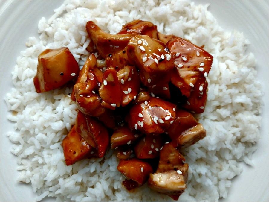 crock-pot orange chicken