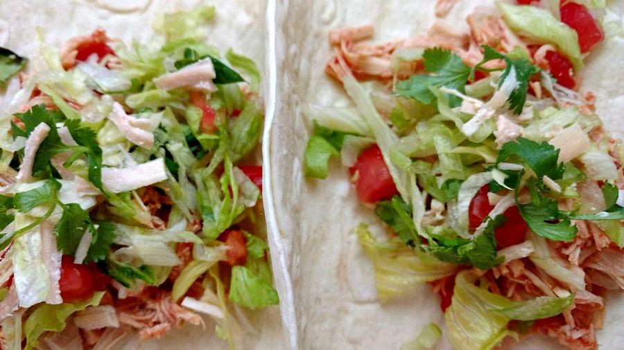 crock-pot shredded chicken tacos