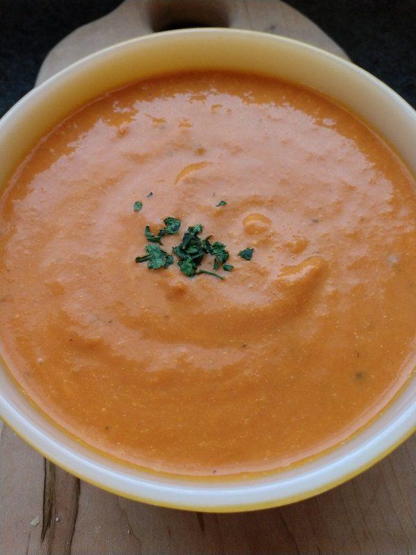 crock-pot tomato basil soup