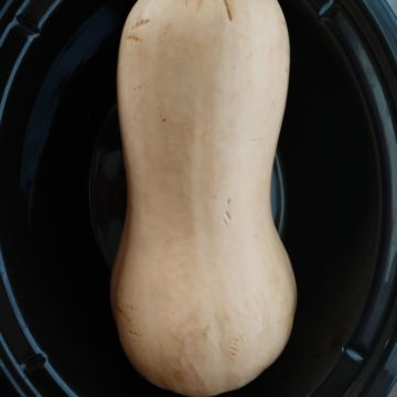 crock-pot butternut squash