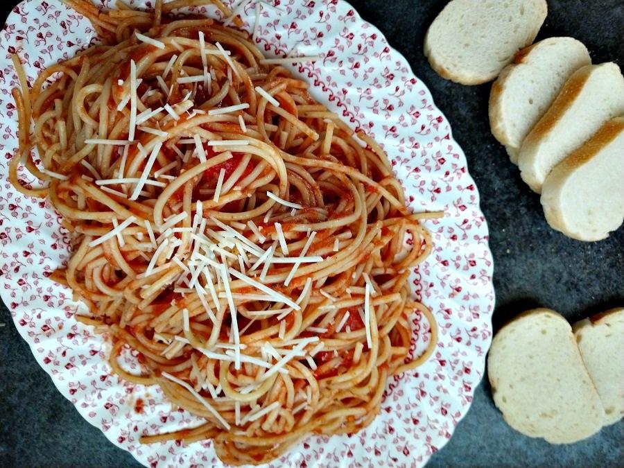 crock-pot spaghetti