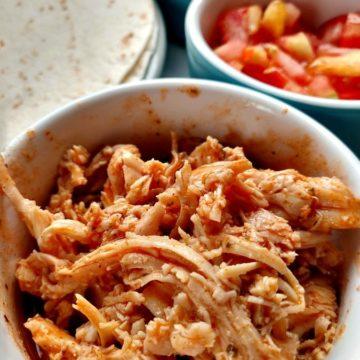 crock-pot buffalo chicken tacos