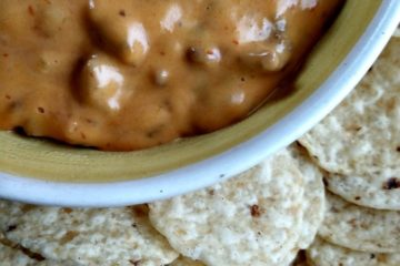 crock-pot nacho cheese dip