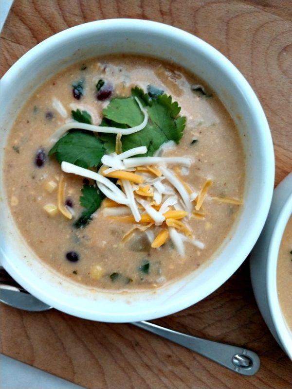 crock-pot black bean nacho soup