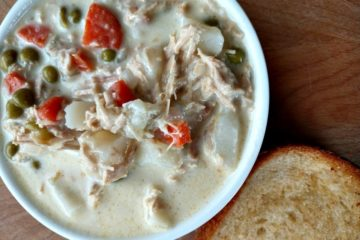 crock-pot chicken pot pie soup