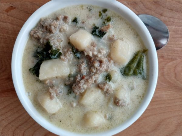 crock-pot zuppa toscana