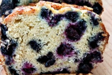 crock-pot blueberry orange juice bread