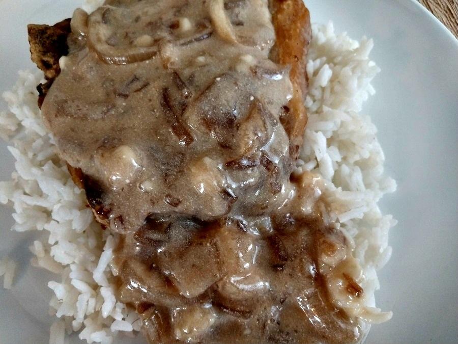 crock-pot french onion pork chops