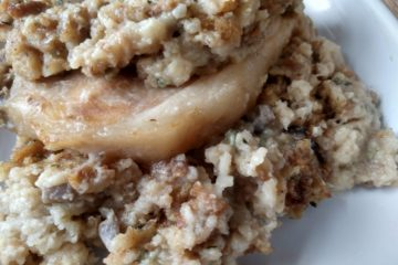 crock-pot pork chops and stuffing