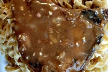 crock-pot smothered pork chops