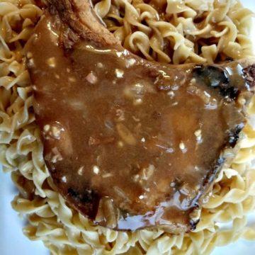 crock-pot smothered pork chops