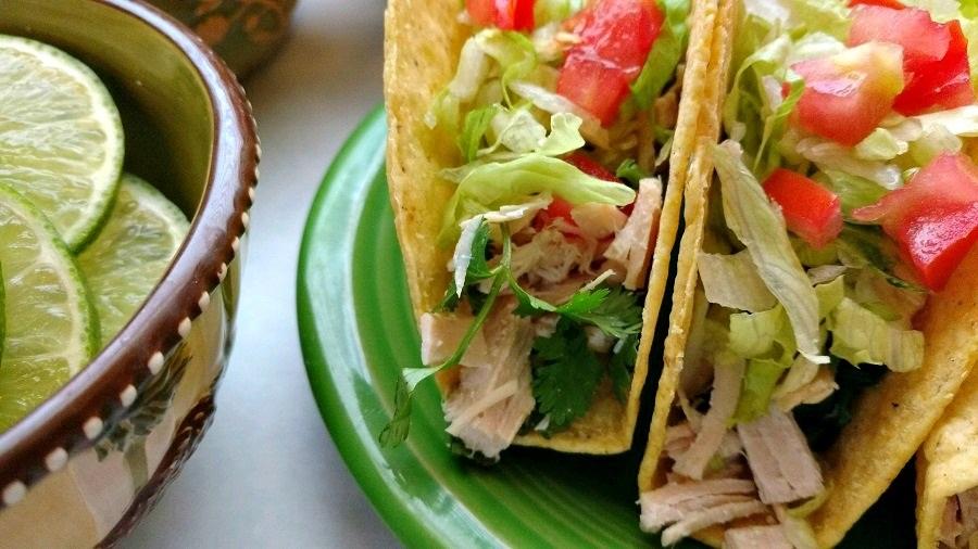 crock-pot cilantro lime chicken tacos