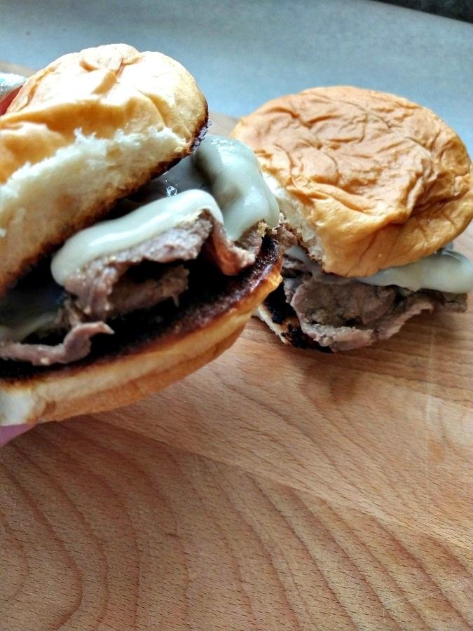 Crock-Pot Steak Sandwiches