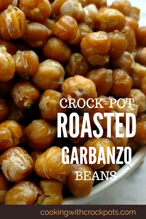 Crock-Pot Roasted Garbanzo Beans