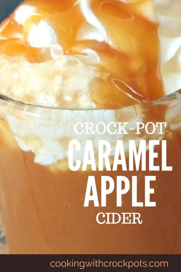 Crock-Pot Caramel Apple Cider