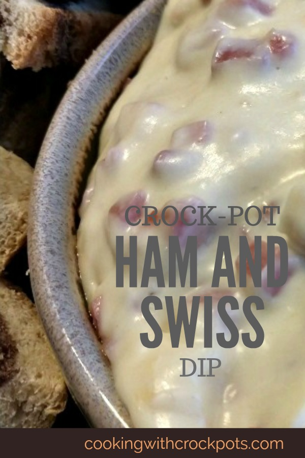 Crock-Pot Ham and Swiss Dip