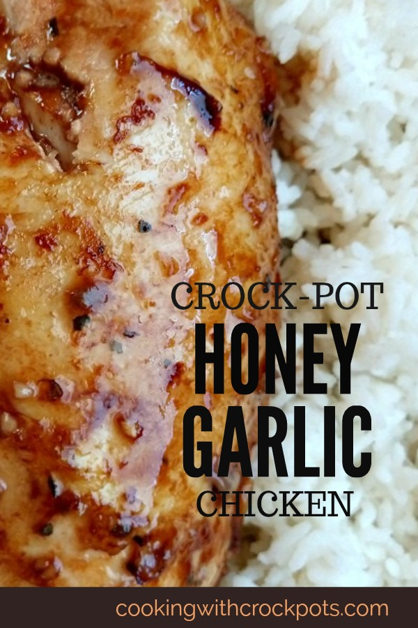 Crock-Pot Honey Garlic Chicken