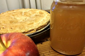Crock-Pot Apple Pie Ala Mode Moonshine