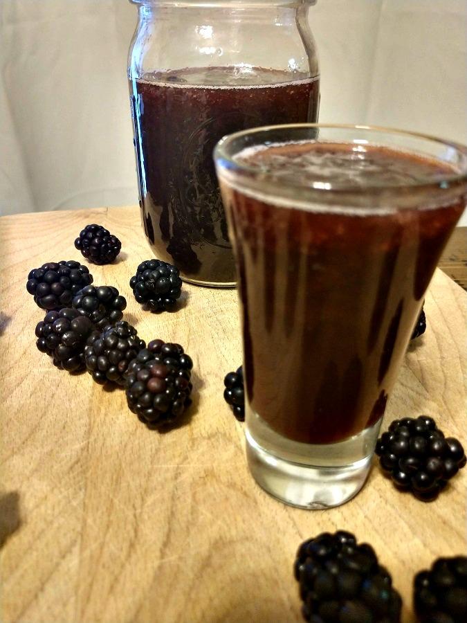Crock-Pot Blackberry Moonshine