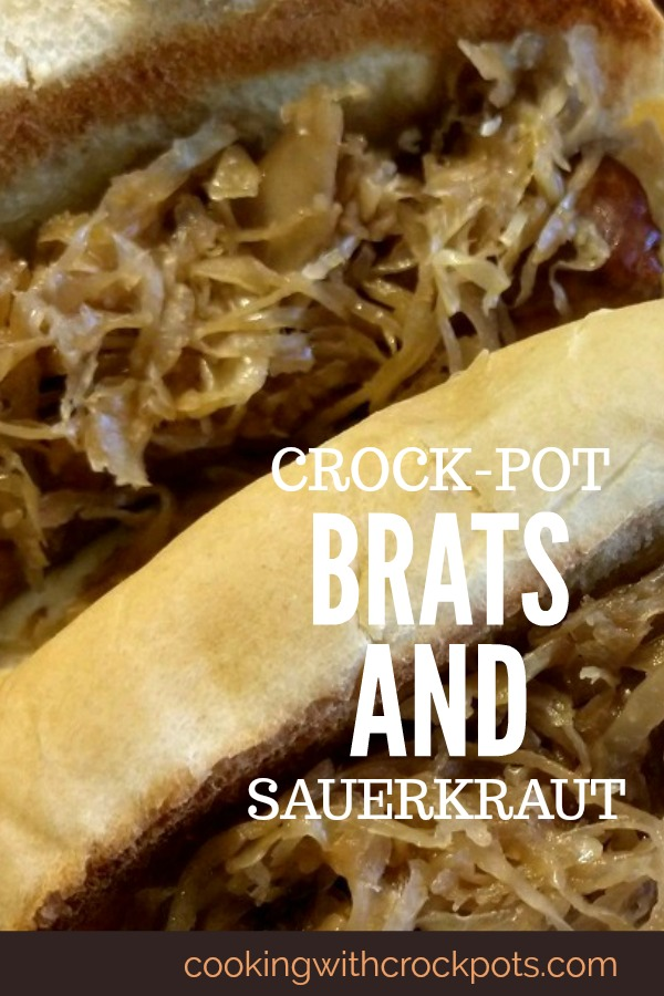 Crock-Pot Brats and Sauerkraut