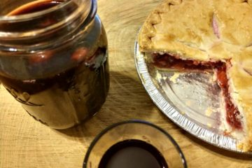 Crock-Pot Cherry Pie Moonshine