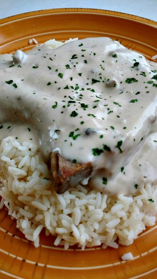 crock-pot easy pork chops