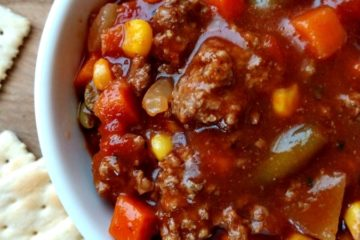 crock-pot vegetable beef soup