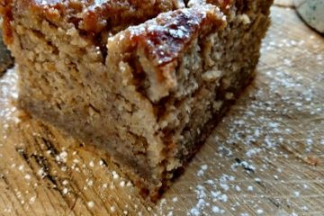 crock-pot banana bread coffee cake