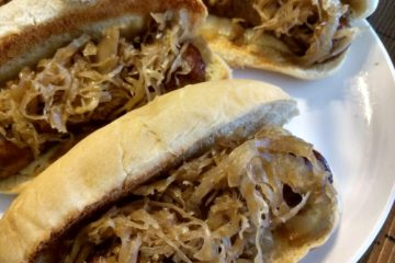 Crock-Pot Brats and Sauerkraut